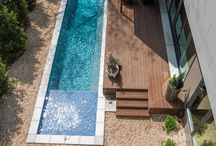 Cool pools / Pools that blend with the garden