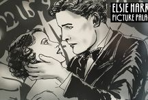 Elsie Harris, Picture Palace / Some behind the scenes snapshots into building Elsie's world.
