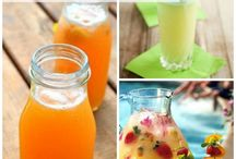 Recipes: lemonades, juices, n-a drinks