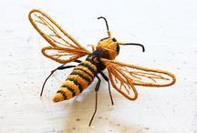 bee  蜂 / by Shino K