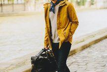 żółty - męskie inspiracje