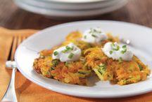Latkes courgettes, carottes