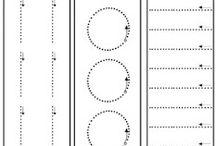Grafomotorika + abeceda, čísla, tvary, barvy...
