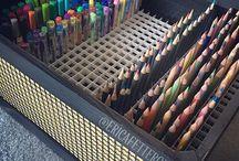 Рисование | Coloring pencils