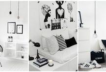 Decoração Moderna- Preto e Branco