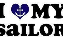 anchor and sailor