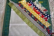 Quilts String blocks
