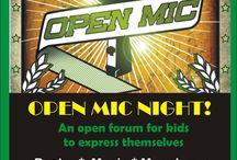 Open mic night for kids