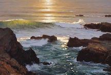 Asilomar Inspired Art / Asilomar has been the inspiration for many beautiful works of art.
