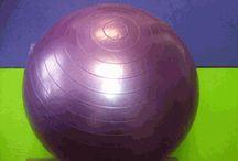 Anti-Burst Stability Exercise Ball