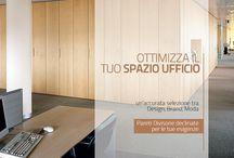 pareti divisorie per ufficio / pareti mobili e pareti divisorie e attrezzate per dividere gli spazi ufficio moderni