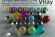 VRAY materials