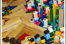Block Play with Loose Parts