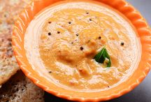 South Indian Dishes & Chutneys