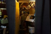 Vocal Booth on Tracks for Small Spaces / The perfect vocal booth for small or no space.