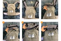 Baby Carrier Storage / Not sure how to store your Tula Baby Carrier(s)? We asked our Tula Love Community to share how they store their baby carrier stash and they did not disappoint with the tips and tricks! Some great baby carrier storage ideas!