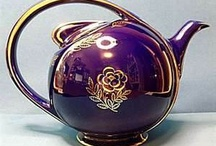 HOME - Hall Pottery / Have a variety of Hall pieces in my collection from whole sets of china to many, many teapots. / by Sondra Van Huss