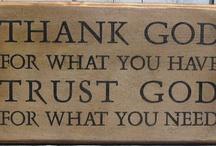 I love GOD! / by Sarah Wammack