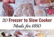 Slow Cooker & Freezer Prep