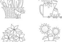 Templates and Digital Stamps