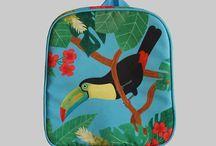 Rybka Bag / Rybka Bag bring Various interesting and educative animal designs into product to invite children exploring nature. Designed by Hadeboga