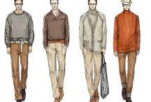 эскизы мужской одежды