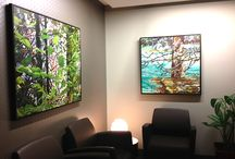 Corporate Spaces / Corporate spaces outfitted by SANTINI GALLERY.
