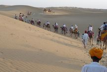 Sam Sand Dunes  Jaisalmer / Sam Sand Dunes is a must visit in the state of Rajasthan in the environs of the city of Jaisalmer. It is likely that you are going for a Desert Safari .