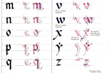 Calligraphy......and art in itself!! / Lettering and monograms