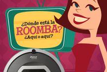 Donde esta la Roomba? / App en la que cuantas mas Roombas encuentres, mas te llevas!!