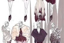 Fashion illustration / by Line Hansen