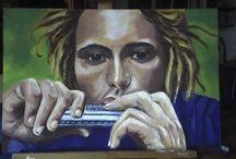 La mia pittura / I miei quadri, i miei disegni...
