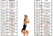 awesome workouts / by Karen Woellert