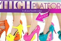 Sky High Platforms / Sky High Platforms to Elevate Your Fashion Style!