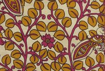 Kalamkari Art / Kalamkari or qalamkari is a type of hand-painted or block-printed cotton textile, produced in parts of India and Iran. Handpicked and selected range of kalamkari products available on www.artbugs.in