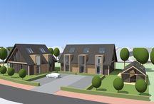 Woningbouw Studio SBA / Studio SBA heeft een groot scala aan woningen ontworpen, van moderne villa's tot aan traditionele woonboerderijen.