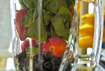 Raw fruit and veggie smoothie challenge  / by Jessica Smith-Phillips