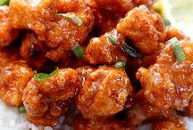 Crispy honey ginger chicken