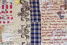 Altered quilts / Rescued, repaired, repurposed or recycled
