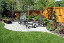 Landscape-Backyard Corner / Corner Spots in the yard. / by Linda Finni