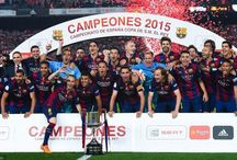 Perayaan Barcelona Setelah Menjuarai Copa Del Rey / Barcelona berhasil memenangkan Copa Del Rey 2015 setelah mengalahkan Athletic Bilbao 3-1. Ini perayaan juara Barcelona.