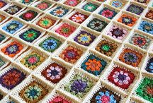 Crochet - Granny Squares / by Pat Gerson