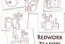 Embroidery - Redwork