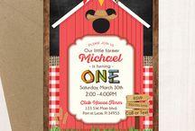 Farm Mickey Party