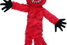 Maskotka futerkowa SZALONY KOT czerwony/Mascot fur CRAZY CAT red / Maskotka futerkowa SZALONY KOT czerwony/Mascot fur CRAZY CAT red