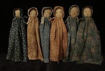 staromodní panenky