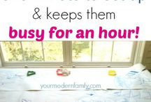 Things to keep children busy