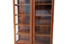 Vintage cabinet display - Teak furniture Jepara manufacturer