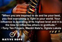 Words We Live By / Wisdom, inspiration, and Native American proverbs