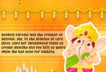 Ganesh Chaturthi / Ganesha Chaturthi is the Hindu festival celebrated in honour of the god Ganesha, the elephant-headed. The festival, also known as Vinayaka Chaturthi, is observed in the Hindu calendar month of Bhaadrapada, starting on the shukla chaturthi